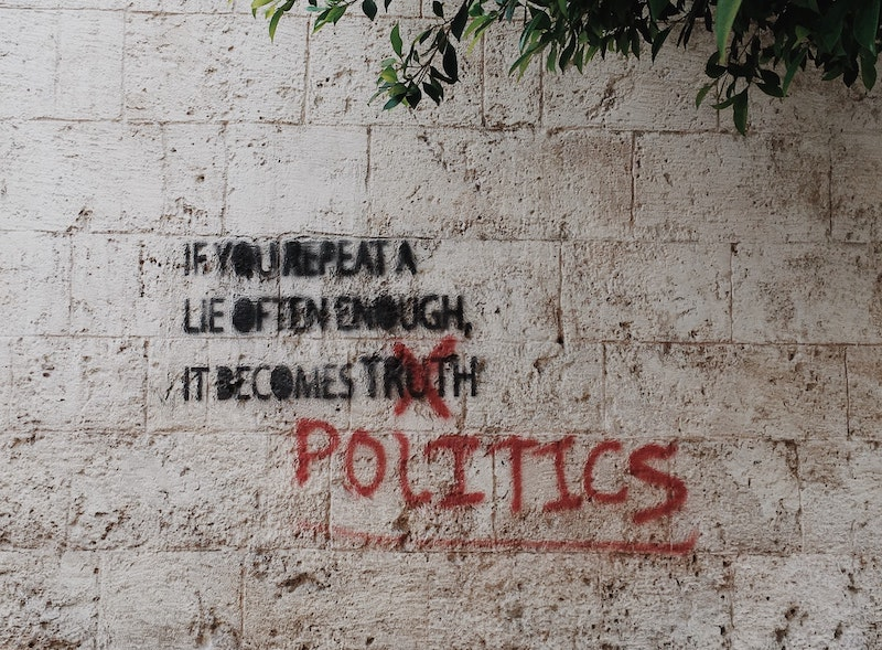 Politic isn't Dirty, But Politician Makes It Dirty